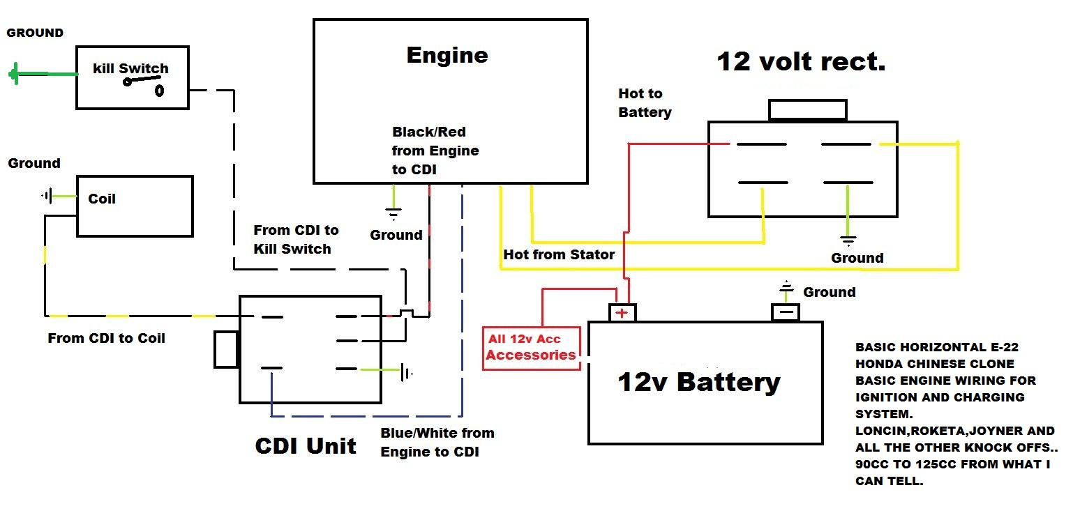 Typical Ignition Switch Wiring Diagram Atv Reveolution Of Joyner Starter Wire Rh 59to Co Johnson